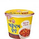 (컵)매콤낙지덮밥250g*12(오뚜기)