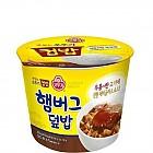 (컵)햄버그덮밥280g*12(오뚜기)