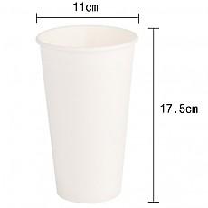 (컵)32온스종이컵(무지)(25*20줄)