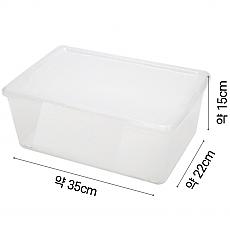 (그릇)리빙박스(35cm*22cm*15cm)