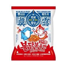 (봉지)김치불닭볶음면(135g*32)/삼양