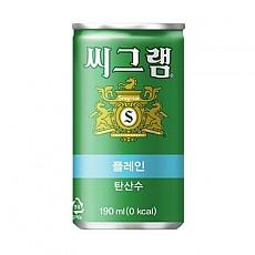 씨그램플레인(190ml*30)코카콜라